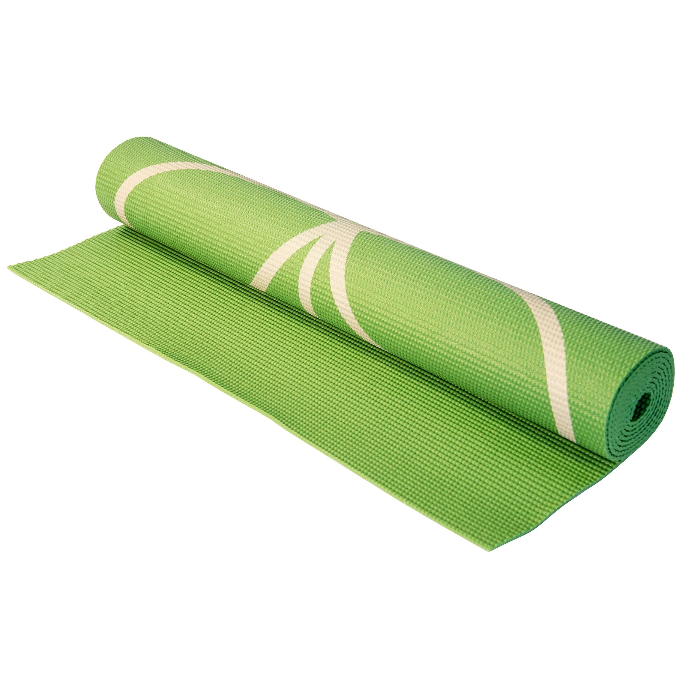 Fitness l 39 entrep t matelas de yoga 3mm gaiam vert for Entrepot matelas
